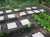 use tiles for walkways in the garden popsugar home