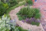 Herb Garden, circular path, patio | Plant & Flower Stock Photography ...
