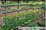 greenhouse gutters garden ideas pinterest