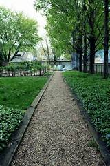 easy (cheap) pathway | garden pathway ideas | Pinterest