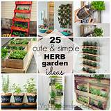 25 cute simple herb garden ideas diy garden