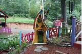 whimsical garden houses | Garden Fun | Pinterest
