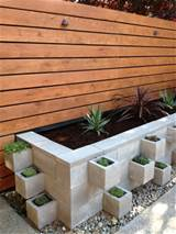 DIY Contemporary – Create a very cool Modern Cinder Block Planter