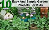 10 Easy And Simple Garden Projects For Kids