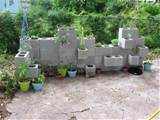 Cinder Block Planter | nearly flipped when I saw this cinder block ...