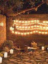 lights garden party ideas pinterest