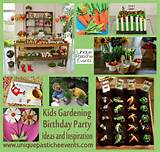 kids gardening birthday party ideas unique pastiche events