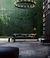 Library Vertical Garden : Contemporary Library Designs Ideas | General ...