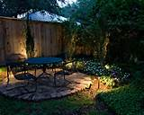 Charleston Garden Patio Landscape with Custom Lights - Best Patio ...