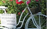 picture of bicycle garden art funky stuff for the garden pintere