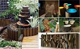 fab art diy rustic log decorating ideas for home and garden jpg