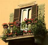 Beautiful flower arrangements. 12 nice balcony and terrace flower ...