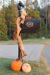 fall-mailbox.jpg 736×1,103 pixels | Holiday fun decor | Pinterest