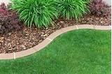 Sleek Cheap Garden Edging Ideas | 16324 | Home Design Ideas