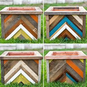 diy planter box out of pallet wood pallet furniture diy