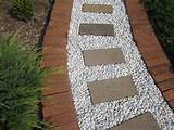 Garden. Creative Inexpensive Garden Path Ideas: Garden Path Ideas With ...