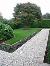 Garden. Creative Inexpensive Garden Path Ideas: Personable Garden Path ...