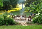 fire pit diy rustic landscape milwaukee by erin lang norris