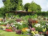photo gallery of the easy flower garden ideas