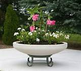 decorative outdoor patio deck planters large planters nice selection ...