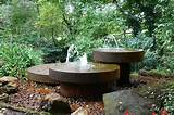 fountain outdoor kitchen and garden ideas pinterest