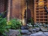 Asian style patio & garden - Asian - Landscape - chicago - by Exterra ...