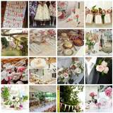 country garden wedding theme moodboard and decor ideas uk wedding