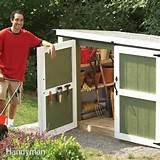 Another great project with this DIY shed with free plans at Ana White ...
