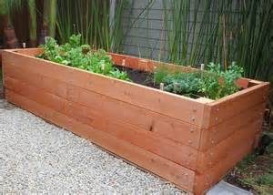 ... > Container Gardening > Vegetable Garden Planter Box Plans Ideas