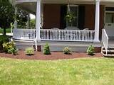 landscaping ideas for wrap around porches our new landscape around