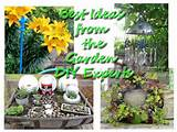 cute garden ideas from great garden bloggers!