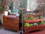 Holzstühlen streichen und bepflanzen – interessante DIY Gartendeko ...