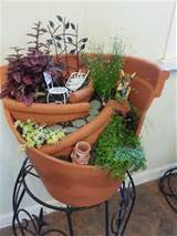 These 39 Broken Pots Mini Garden Ideas Will Blow Your Visitors Away ...