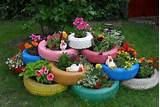 paint flower bed cute idea diy flower bed cute idea