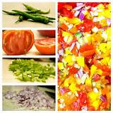 rainbow pepper salsa lifeasaplate healthy food ideas pinterest