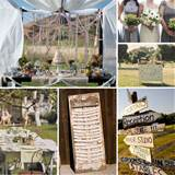 Diy Shabby Chic Wedding Decor Shabby Chic Outdoor Weddings