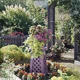 35 Vintage Bahçe Dekorasyonu Ve Saksı Kullanma Fikri - Mobilyalar