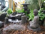 Pohaku Bowl garden contians: Japanese garden logs, Tranquil Buddha ...