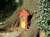 Whimsical gnome door | Garden Ideas | Pinterest