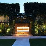 garden lighting ideas | More light, more warm | Pinterest