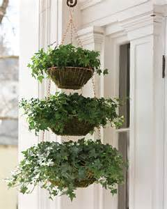 Hanging Wire Baskets Planter | Martha Stewart