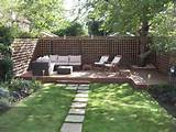 ... Design Ideas Small Back Garden Landscape Ideas Post Modern Furniture