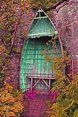 Make interesting garden refuge out of old boat.