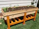 ideas outdoors diy planters planter boxes above ground garden ideas