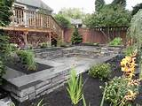seattle backyard landscape design and construction