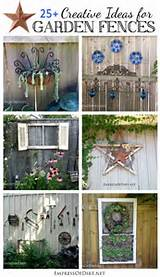 25+ Creative Ideas For Garden Fences using garden art, junk, and ...
