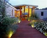 Front Yard Walkway LightingModern LandscapingAndrew Grossman Landscape ...