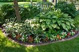garden ideas picket fence shade garden front yard gardens plants