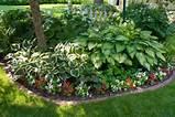garden ideas picket fence shade garden front yard gardens plants