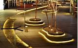 Outdoor led strip lighting garden lighting ideas modern landscape ...